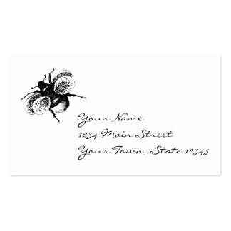 Vintage Bumblebee Business Cards