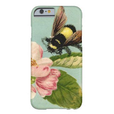 Vintage Bumblebee Barely There iPhone 6 Case
