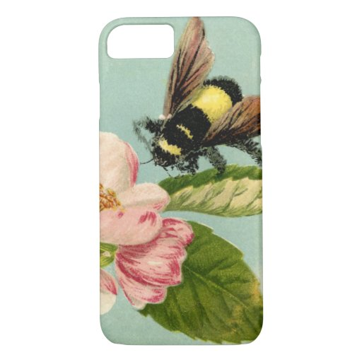 Vintage Bumblebee iPhone 8/7 Case