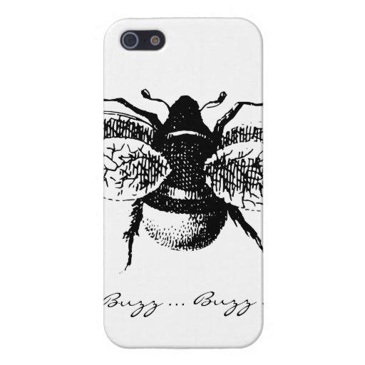 Vintage Bumblebee iPhone 5 Cases