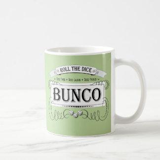 Vintage Bunco Design Classic White Coffee Mug