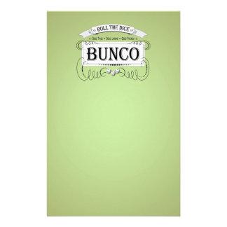 Vintage Bunco Design Stationery