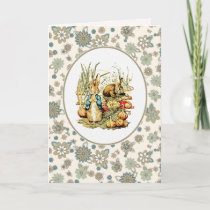 Vintage Bunnies. Easter Cards