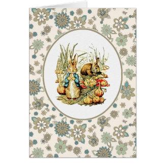 Vintage Bunnies. Easter Cards