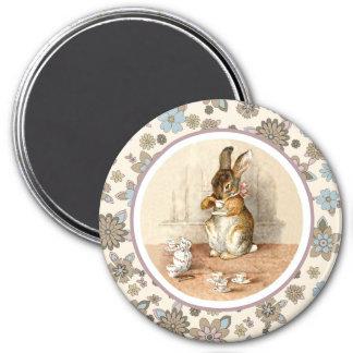 Vintage Bunny by Beatrix Potter.Easter Magnets