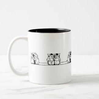 Vintage Bunny Council Mug