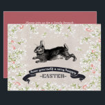 "Vintage Bunny Custom Easter Brunch Invitations<br><div class=""desc"">Happy Easter. Vintage Easter Bunny design Personalized Easter Brunch Invitations. Matching cards,  postage stamps and other products available in the Holidays / Easter Category of our store. Happy Easter,  Buona Pasqua,  Felices Pascuas,  Frohe Ostern,  Joyeuses Pâques,  Feliz Páscoa ,  Szczęśliwej Wielkanocy .</div>"