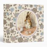 Vintage Bunny Easter Gift Binders
