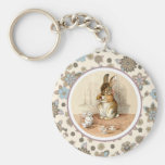Vintage Bunny Easter Gift Keychains