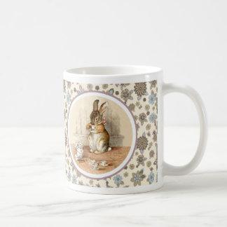 Vintage Bunny Easter Gift Mugs