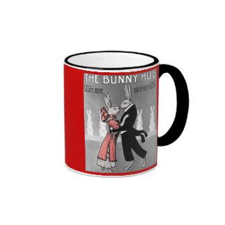 Vintage Bunny  Hug Gift Mug
