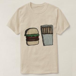 Vintage Burger and Fries Shirt