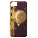 Vintage Burgundy Camera iPhone 5C Cover