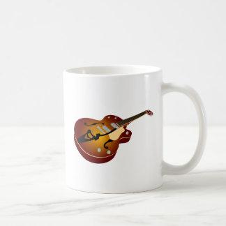 Vintage Burst Guitar Coffee Mug
