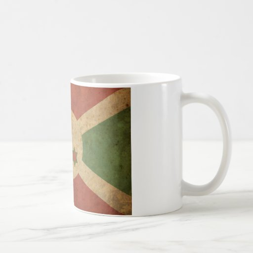 Vintage Burundi Coffee Mug