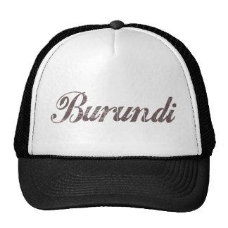 Vintage Burundi Mesh Hats