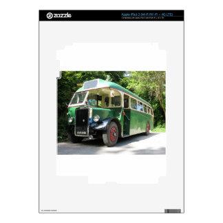 Vintage bus, 1940 transport , nostalgia image iPad 3 skin