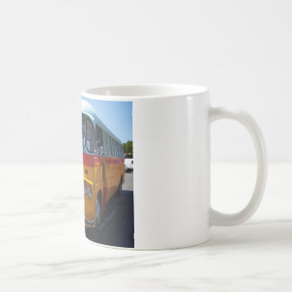 Vintage bus coffee mug
