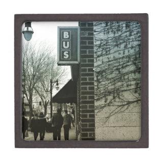 Vintage Bus Stop Gift Box