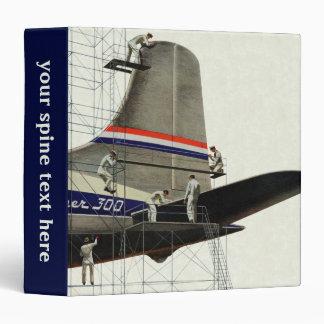Vintage Business, Airlines Airplane Maintenance Binder