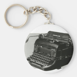 Vintage Business, Antique Office Manual Typewriter Keychain