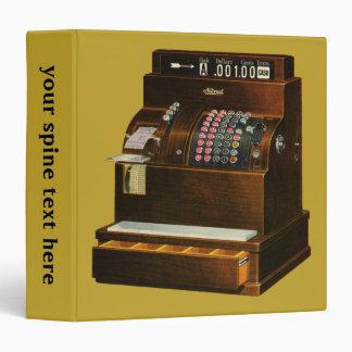 Vintage Business, Antique Retail Cash Register Binder