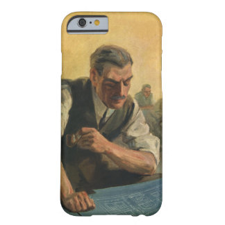 Vintage Business Architect and Building Blueprints Barely There iPhone 6 Case