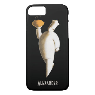 Vintage Business, Art Deco Restaurant Chef iPhone 7 Case