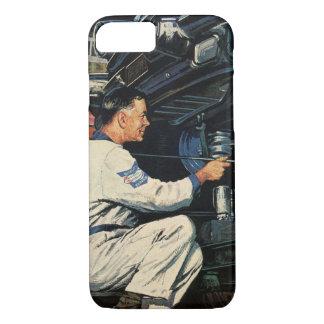 Vintage Business Auto Mechanic, Car Repair Service iPhone 8/7 Case