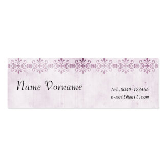 vintage Double-Sided mini business cards (Pack of 20)