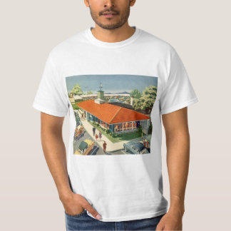 Vintage Business, Customers at a Family Restaurant T-Shirt
