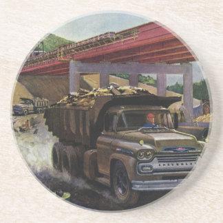 Vintage Business, Dump Truck on Construction Site Coaster