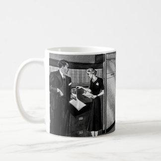 Vintage Business, Executive Businessmen Office Coffee Mug