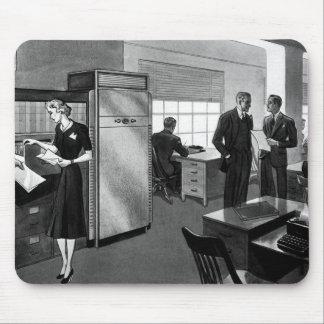 Vintage Business, Executive Businessmen Office Mouse Pad