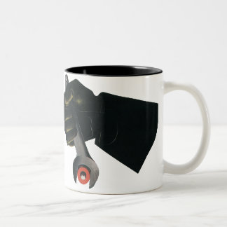 Vintage Business Factory, Manufacturing Machinist Two-Tone Coffee Mug