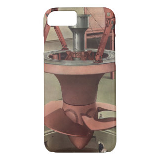 Vintage Business, Generator with Giant Turbine iPhone 8/7 Case