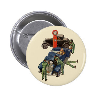 Vintage Business, Joe's Full Service Gas Station Pinback Button