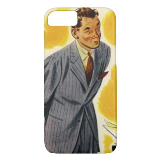 Vintage Business, Mad CEO Executive Boss Employee iPhone 7 Case