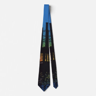 Vintage Business, Manufacturing Factory at Sunset Tie
