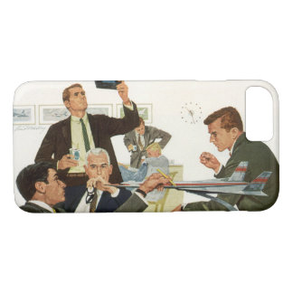 Vintage Business, Meeting with Airline Executives iPhone 8/7 Case