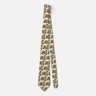 Vintage Business Office, CEO Boss and Secretary Neck Tie