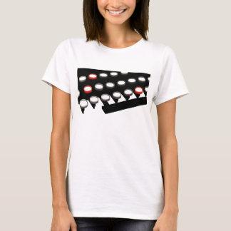 Vintage Business Old Fashioned Typewriter Keyboard T-Shirt