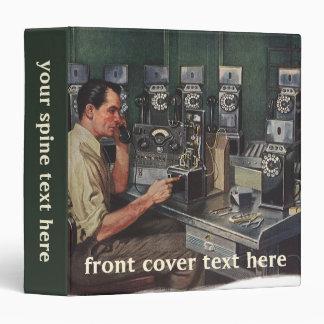 Vintage Business, Pay Phone Telephone Repairman Binder
