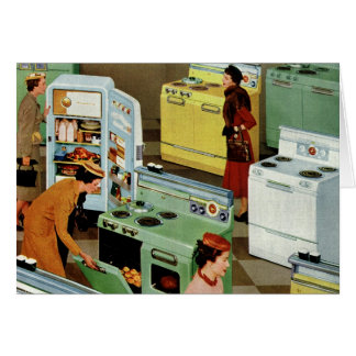 Vintage Business Retail, Appliance Showroom Store Card