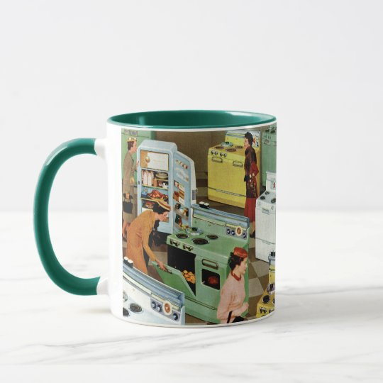 Vintage Business Retail, Appliance Showroom Store Mug