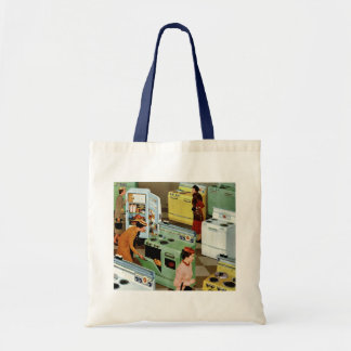 Vintage Business Retail, Appliance Showroom Store Tote Bag