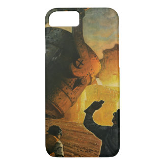Vintage Business, Steel Manufacturing Industry iPhone 7 Case