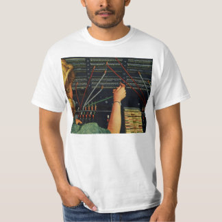 Vintage Business, Telephone Switchboard Operator T-Shirt
