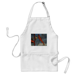 Vintage Business, Workers on Steel Construction Adult Apron