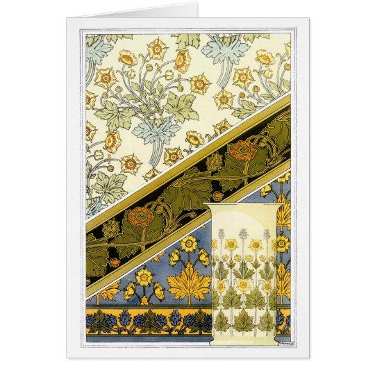 Vintage Buttercup, M.P. Verneuil Card